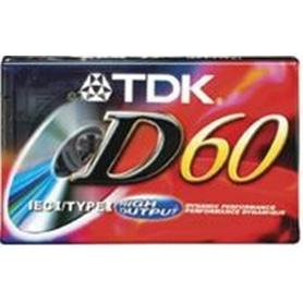 MG CASSETE TDK D60 #### - 4902030024505