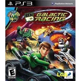 JG PS3 BEN 10: GALACTIC RACING *** - 3391891956970