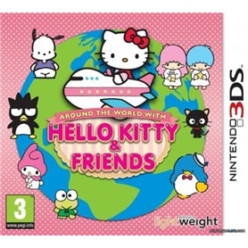 JG 3DS HELLO KITTY: WITH FRIENDS AROUND THE WORLD - 1402.0702