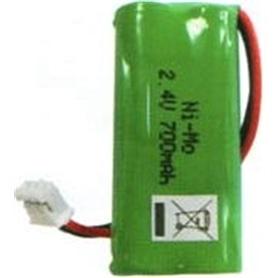 Pilha Ni-MH AAAx2 C/fios 2,4v - PIL-TELEFONE04