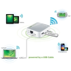 ROUTER 3G TP-LINK TL-MR302 WIFI 150Mbps PORTATIL 3.75G - ROU-WIRELESS04