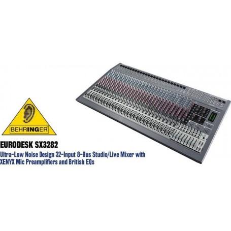 MESA PRO 32 VIAS BEHRINGER EURODESK SX3282 (LIQ) ### - PRO-MESA04