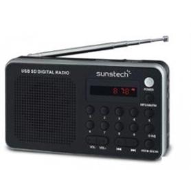 RADIO + LEITOR CARTOES SUNSTECH RPDS32SL PRATA - 1402.0901