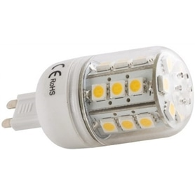 Lâmpada Led G9 Tubular SMD 12v/5w Branco Quente - LP-LEDG9004