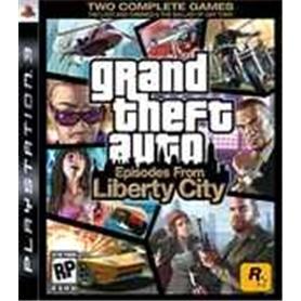 JG PS3 GRAND THEFT AUTO: EPISODES FROM LIBERTY CITY - 5026555404037