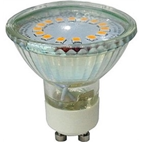 Lâmpada GU10 MR16 LED 220v/ 5w Branco Quente - LP-LEDGU1018