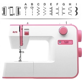 Maquina de Costura Alfa Style 20 - ALF-COSTURA04