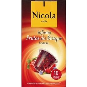 Capsulas compativeis Nespresso Nicola Chá Frutos do Bosque - NIC-CAPSULA05