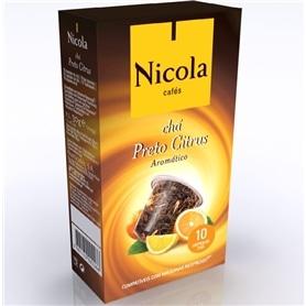 Capsulas compativeis Nespresso Nicola Chá Preto Citrus - NIC-CAPSULA04