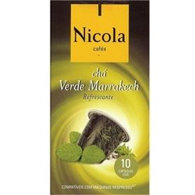 Capsulas compativeis Nespresso Nicola Chá Verde Marrakech - NIC-CAPSULA06