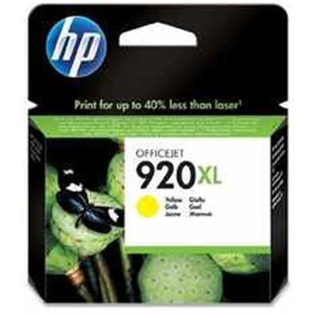 TINTEIRO HP 920XL YELLOW CD974AE ~700pag - HP-TINTY02