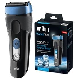 Maquina Barbear Braun CoolTec CT2s Wet & Dry - BRA-MAQBARB08
