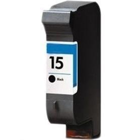 TINTEIRO HP  15 PRETO COMPATIVEL C6615 - HPC-C6615DE