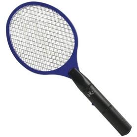Raquete Electrica Mata-moscas e mosquitos - LB-RAQUETE01