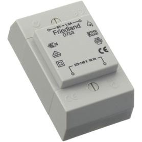 Transformador Campainha Friedland 8v 1A D753 - 5004100411488