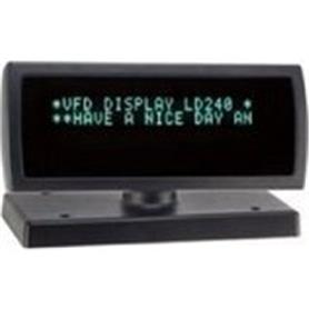 POS - VISOR CLIENTE 2x20 USB Preto - POS-VISOR01