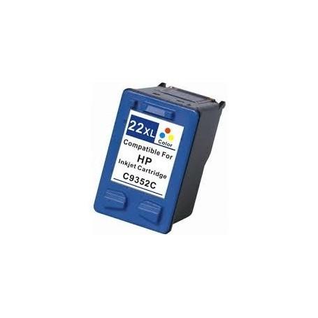 TINTEIRO HP  22XL COR COMPATIVEL C9352C - HPC-TINT04
