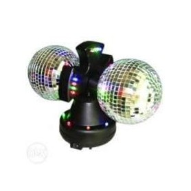 SPECIAL FX PARTYFUN 32 LEDS 2 BOLAS ESPELHOS ROTATIVAS - 1607.2903