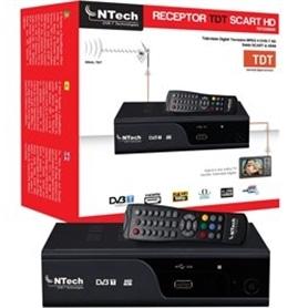 RECEPTOR TDT NTECH HD TDT2300HDS - TDT-RECEPTOR01