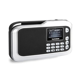 RADIO DE ALTA SENSIBILIDADE LAUSON RD115 PRETO - 1508.1204