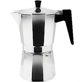 Cafeteira Aluminio 6 Tacas - LB-CAFETEIRA02