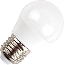 Lâmpada E27 G45 Lustre LED 5,5w Branco Quente - LP-LEDE27010