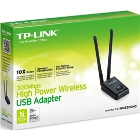PLACA USB WIRELESS N 300Mbps TP-LINK TL-WN8200nd HIGH POWER - TPLINK-WIRELESS07