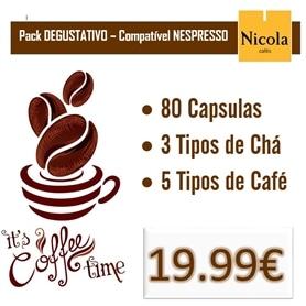 Pack Degustativo Nicola - Compativel com Máquinas Nespresso - 1611.0601