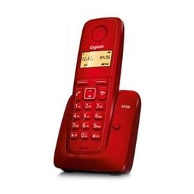 TELEFONE SEM FIO SIEMENS GIGASET A120 VERMELHO - 1611.1571