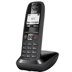 TELEFONE SEM FIO SIEMENS GIGASET AS405 DECT PRETO - 1611.1575