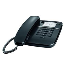 TELEFONE COM FIO SIEMENS DA310 PRETO - 1611.1579