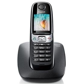 TELEFONE SEM FIO SIEMENS GIGASET C620H PRETO - 1611.1580