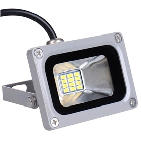 Projector Exterior LED 10w SMD Branco Frio - LB-PROJ09