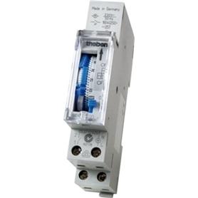 Interruptor Temporizador Horário c/Reserva Theben SUL 180a - 4003468183311