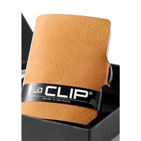 Carteira para Cartoes i-Clip Flux Design Soft Touch Caramelo - 1703.2354