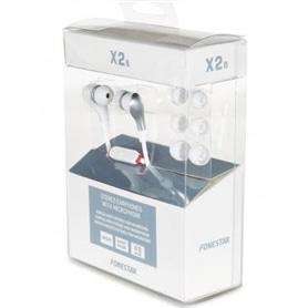 PHONES STEREO COM MICROFONE FONESTAR X2B BRANCO - 1703.3008