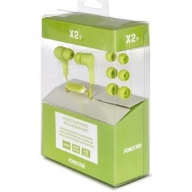 PHONES STEREO COM MICROFONE FONESTAR X2V VERDE - 1703.3006