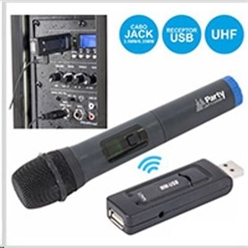 MICRO PRO S/FIO UHF USB PARTY WM-USB - 1702.1354