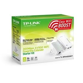 Adaptador Power Line C/Wifi TP-LINK TL-WPA4220KIT - 1607.1801