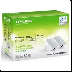 Adaptador Power Line TP-LINK TL-PA4010KIT - 1607.1802