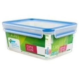 Caixa Alimentos Tefal Clip&Close Retang Plast 2,3L K3021512 - 1704.1264