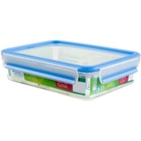 Caixa Alimentos Tefal Clip&Close Retang Plast 1,2L K3021412 - 1704.1265