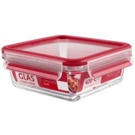 Caixa Alimentos Tefal Clip&Close Quad Vidro 0,9L K3010312 - 1704.1269