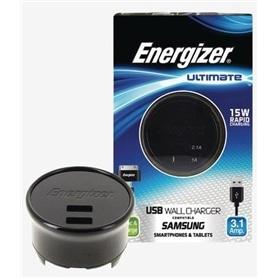 CARREG VIAG DUPLO USB->MICRO USB ENERGIZER ULTIMATE 3.1A - 1411.1308