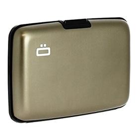Carteira p/ Cartoes OGON Stockolm Aluminium ST D-Grey - 1704.2252