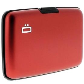 Carteira p/ Cartoes OGON Stockolm Aluminium ST Red - 1704.2253