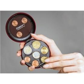 Carteira p/ Moedas OGON Euro Dispenser CD Red - 1704.2260