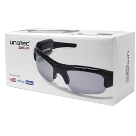 OCULOS COM CAMARA DE VIDEO INCORPORADA 4GB UNOTEC SUNCAM - 1704.2720