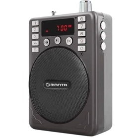 RADIO MESA C/ LEITOR MP3 SD/USB & BATERIA MANTA RDI109 - 1704.2806