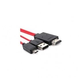 Cabo Micro USB -> HDMI   MHL 5 PINOS - HDMI - 1704.2153